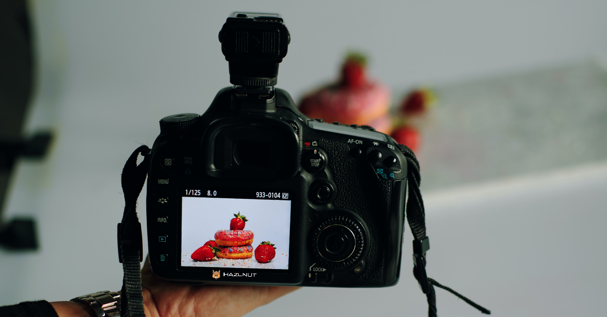 Hazlnut Food Photography Tips